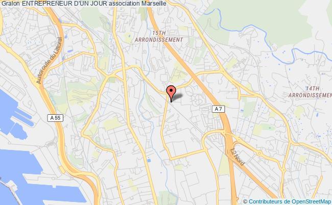 plan association Entrepreneur D'un Jour Marseille 15