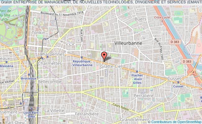 plan association Entreprise De Management, De Nouvelles Technologies, D'ingenierie Et Services (emantis)