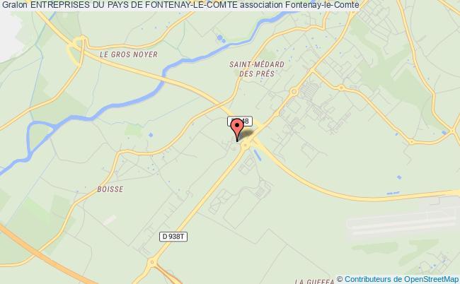 plan association Entreprises Du Pays De Fontenay-le-comte