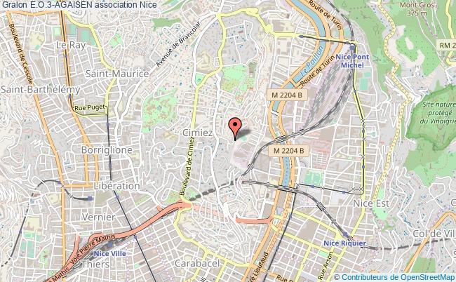 plan association E.o.3-agaisen Nice
