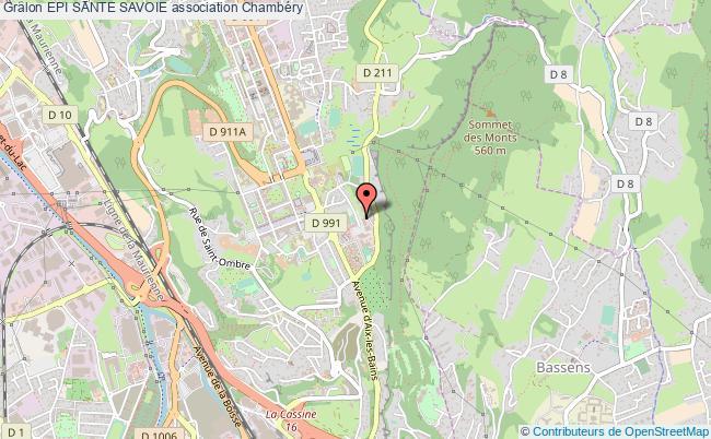plan association Epi Sante Savoie