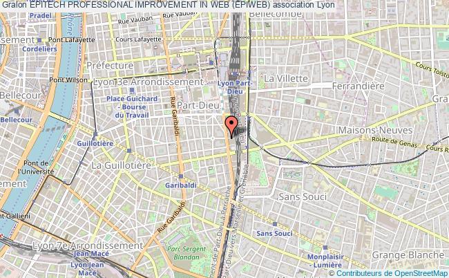plan association Epitech Professional Improvement In Web (epiweb) Lyon