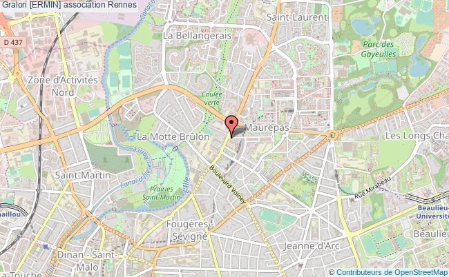 plan association [ermin] Rennes