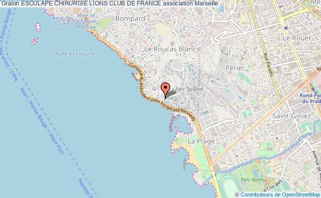 plan association Esculape Chirurgie Lions Club De France