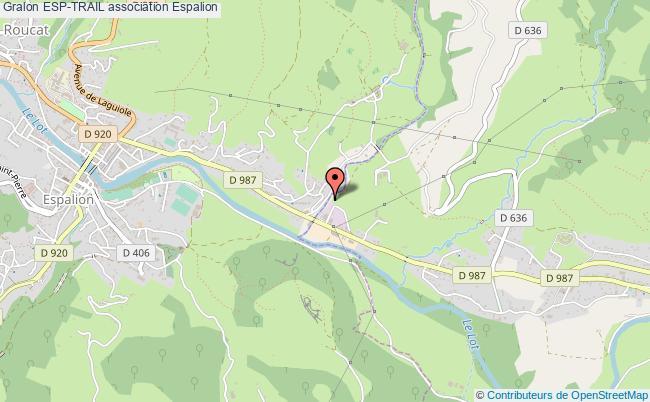 plan association Esp-trail