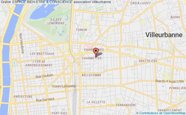 plan association Espace Bien-etre & Conscience
