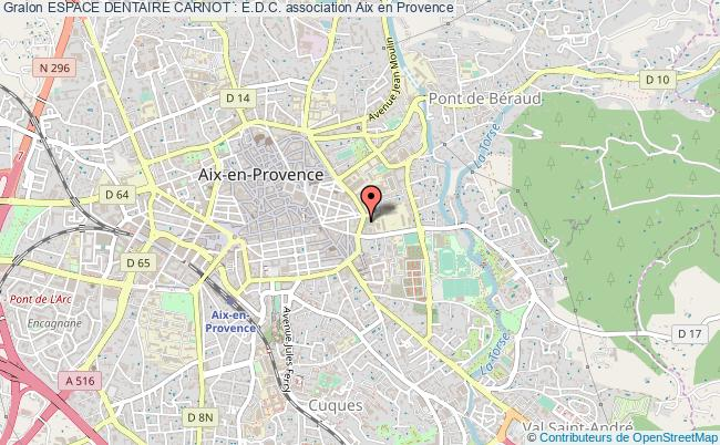 plan association Espace Dentaire Carnot : E.d.c.
