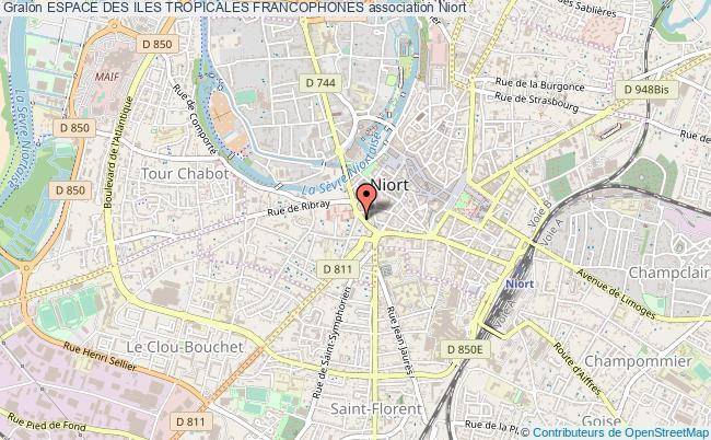 plan association Espace Des Iles Tropicales Francophones