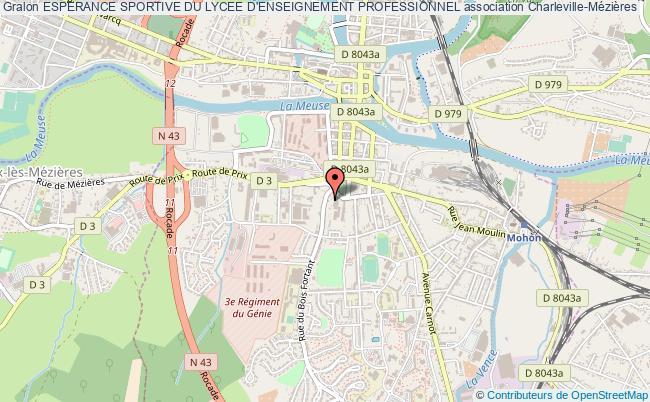 plan association Esperance Sportive Du Lycee D'enseignement Professionnel
