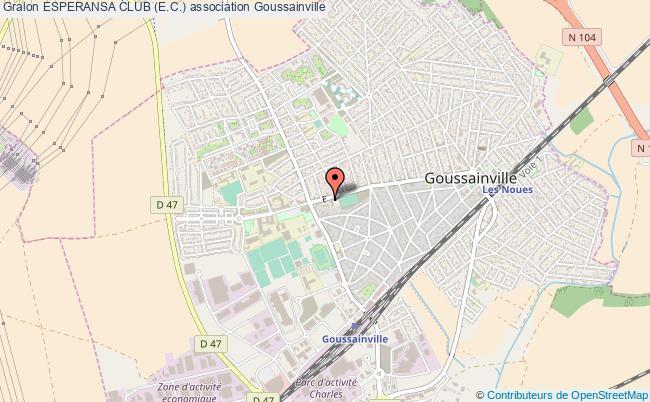 plan association Esperansa Club (e.c.) Goussainville