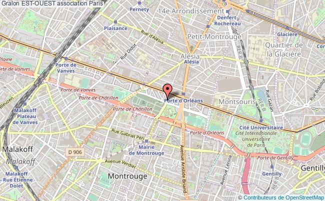 plan association Est-ouest Paris