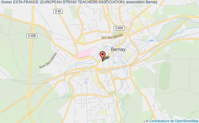 ESTA-FRANCE (EUROPEAN STRING TEACHERS ASSOCIATION)