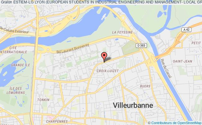 plan association Estiem-lg Lyon (european Students In Industrial Engineering And Management- Local Group Lyon)