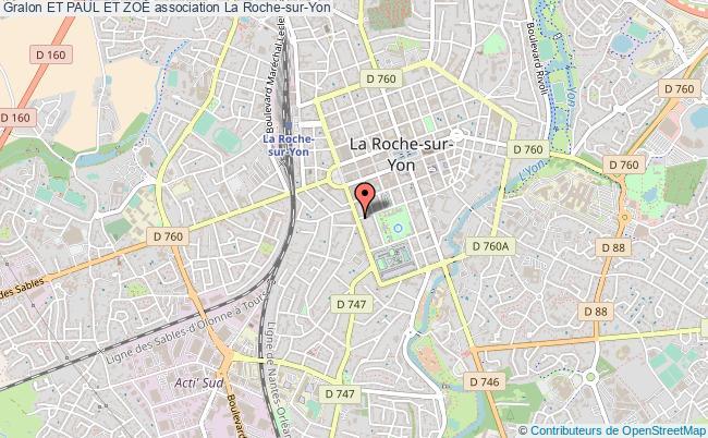 plan association Et Paul Et ZoÉ La Roche-sur-Yon