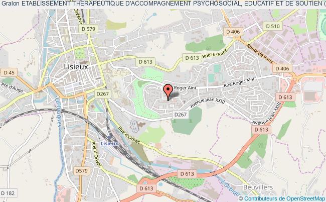 plan association Etablissement Therapeutique D'accompagnement Psychosocial, Educatif Et De Soutien (e.t.a.p.e.s.)
