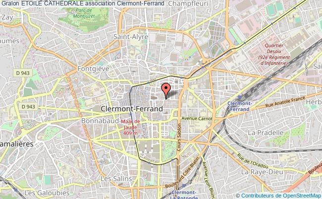 plan association Etoile Cathedrale