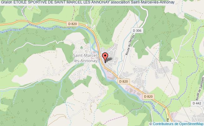 plan association Etoile Sportive De Saint Marcel Les Annonay