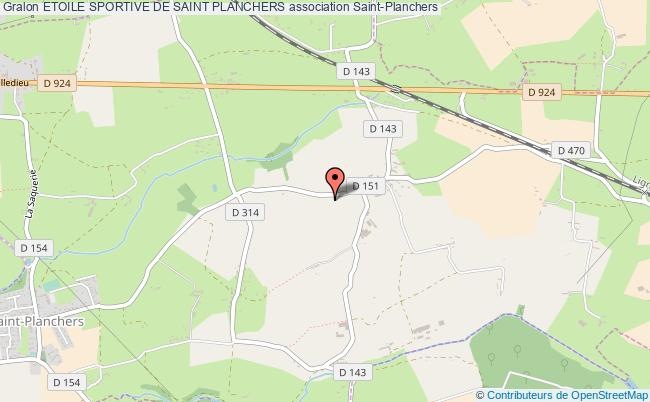 plan association Etoile Sportive De Saint Planchers Saint-Planchers