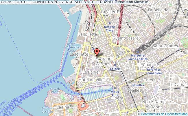 plan association Etudes Et Chantiers Provence-alpes Mediterranee Marseille