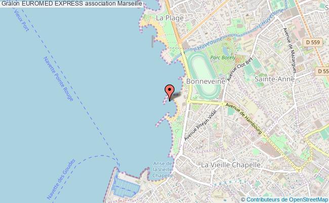 plan association Euromed Express Marseille