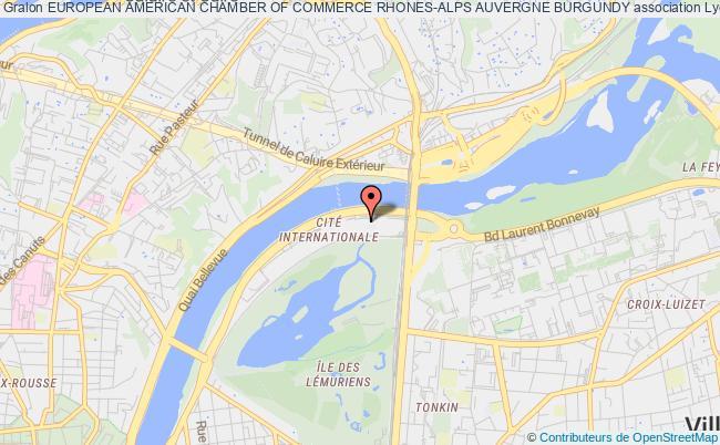 plan association European American Chamber Of Commerce Rhones-alps Auvergne Burgundy Lyon