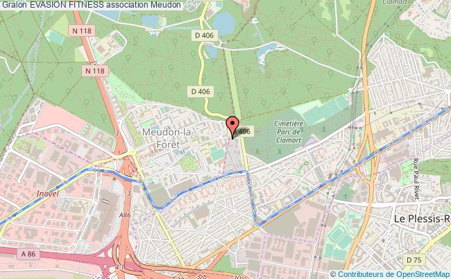 plan association Evasion Fitness Meudon