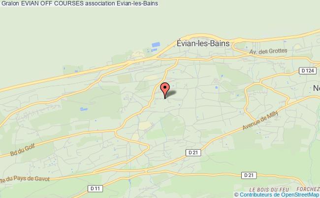 plan association Evian Off Courses