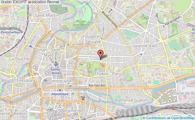 plan association Excipit Rennes