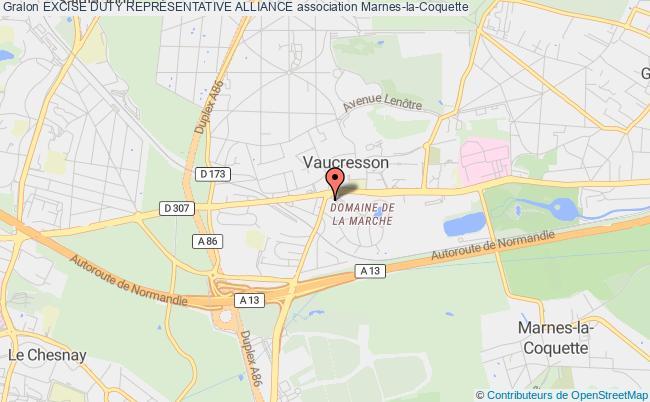 plan association Excise Duty ReprÉsentative Alliance