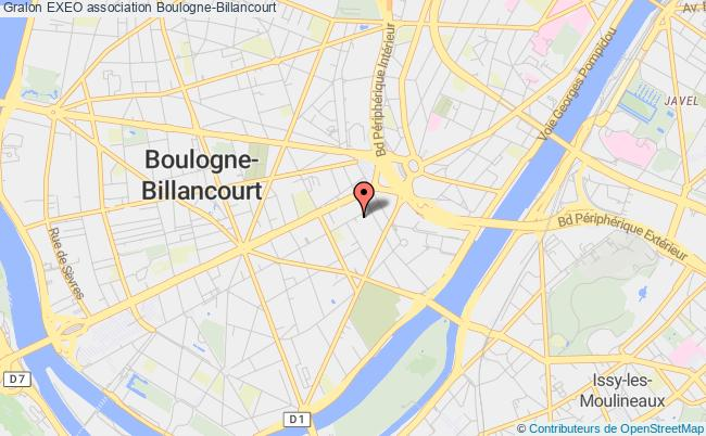plan association Exeo Boulogne-Billancourt