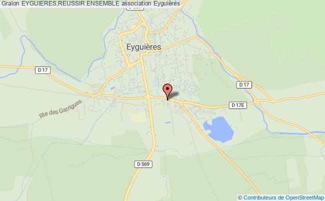plan association Eyguieres,reussir Ensemble