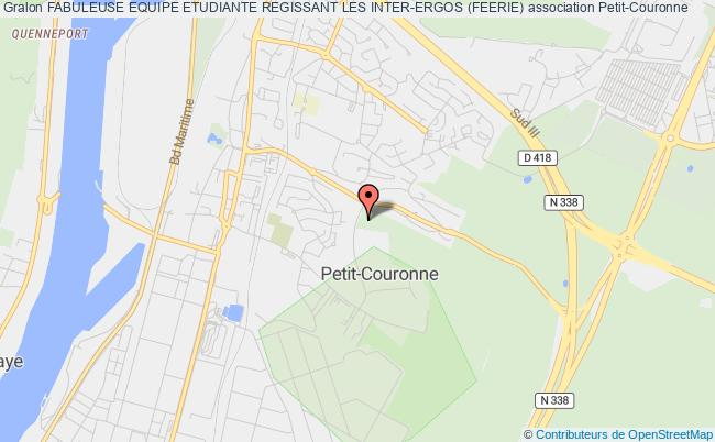 plan association Fabuleuse Equipe Etudiante Regissant Les Inter-ergos (feerie)