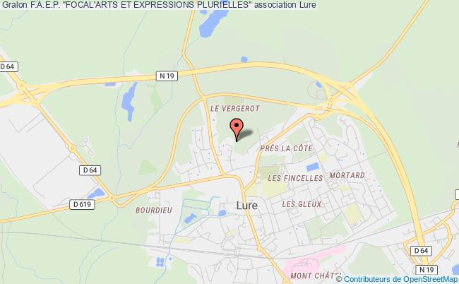 "plan association F.a.e.p. ""focal'arts Et Expressions Plurielles"" Lure"