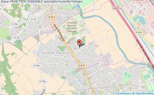 plan association Faire Face Ensemble Auzeville-Tolosane