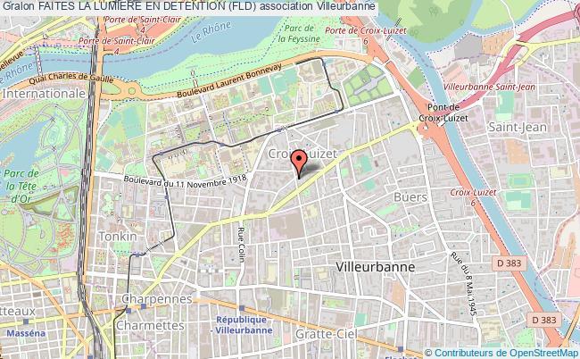 plan association Faites La Lumiere En Detention (fld)