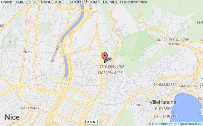 plan association Familles De France Association Du Comte De Nice Nice