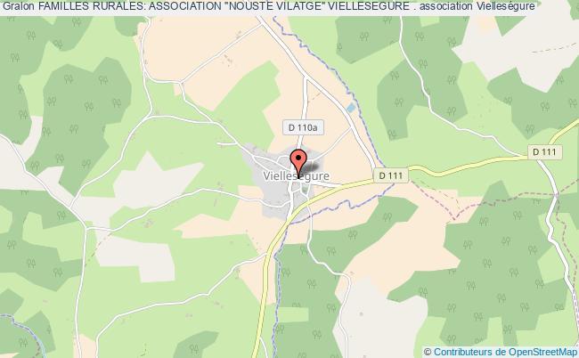 "plan association Familles Rurales: Association ""nouste Vilatge"" Viellesegure ."