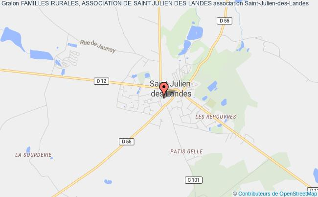 plan association Familles Rurales, Association De Saint Julien Des Landes Saint-Julien-des-Landes