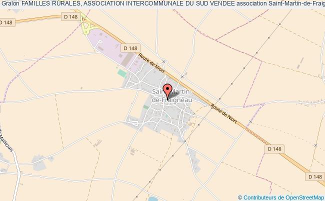 plan association Familles Rurales, Association Intercommunale Du Sud Vendee Saint-Martin-de-Fraigneau