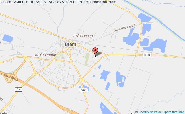 plan association Familles Rurales - Association De Bram