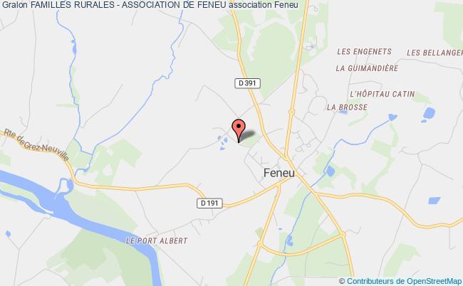 plan association Familles Rurales - Association De Feneu Feneu