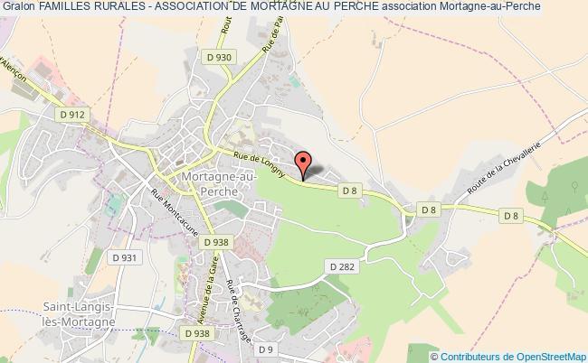 plan association Familles Rurales - Association De Mortagne Au Perche