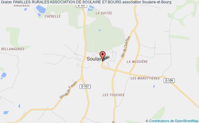 plan association Familles Rurales Association De Soulaire Et Bourg Soulaire-et-Bourg