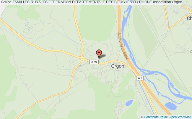 plan association Familles Rurales Federation Departementale Des Bouches Du Rhone