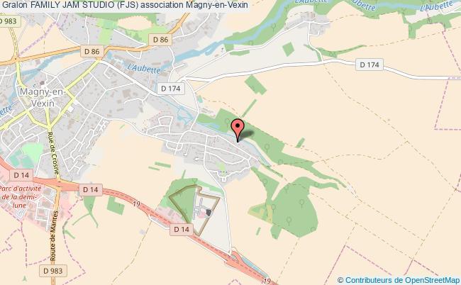 plan association Family Jam Studio (fjs) Magny-en-Vexin