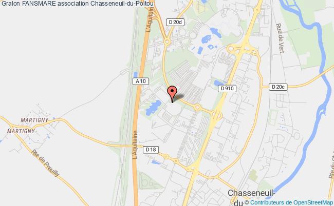 plan association Fansmare Chasseneuil-du-Poitou