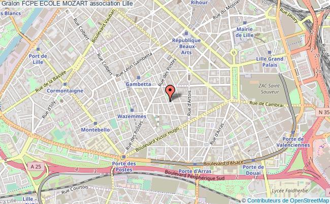 plan association Fcpe Ecole Mozart