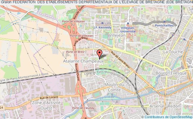 plan association Federation  Des Etablissements Departementaux De L'elevage De Bretagne (ede Bretagne) Ou (fedeb)