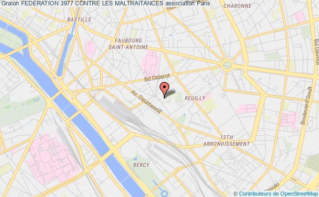 plan association Federation 3977 Contre La Maltraitance Paris