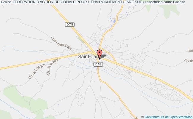 plan association Federation D Action Regionale Pour L Environnement (fare Sud) Saint-Cannat